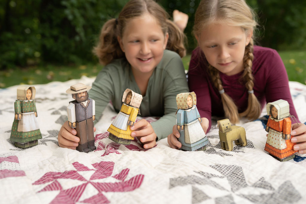 Creating the Little House on the Prairie® Collection from Cubles®